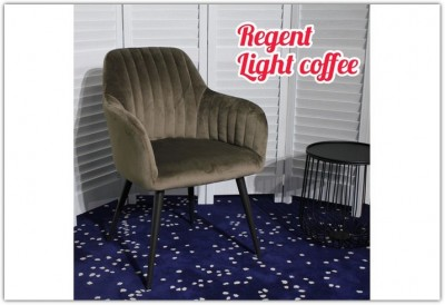 Стул REGENT LIGHT COFFEE